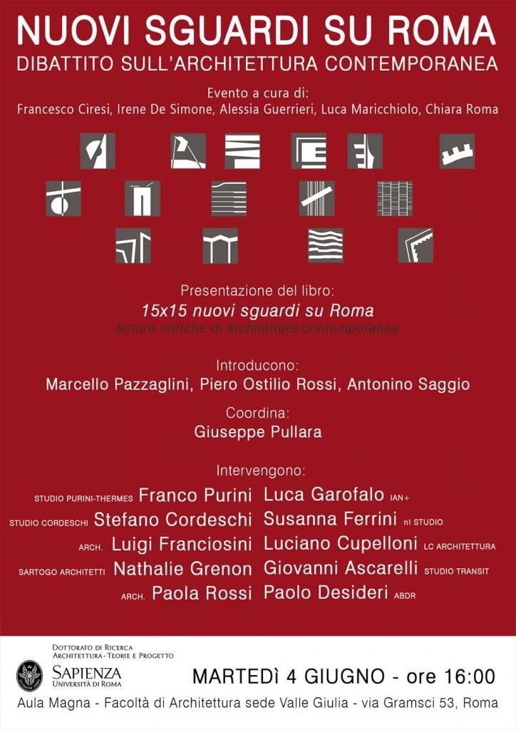 Inu lazio 15 x 15 nuovi sguardi su roma letture - Portale architetti roma ...