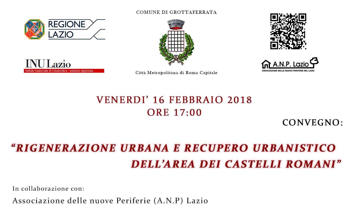 2017_locandina_rigenerazione urbana e recupero urbanistico dei Castelli ...